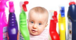 réfléchissez à deux fois avant de conserver des produits corrosifs à la maison, surtout si vous avez des enfants.