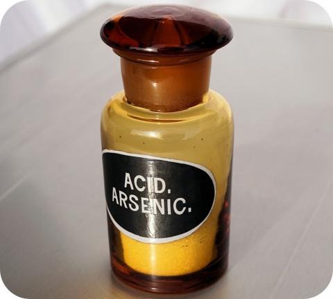 S'il y a un poison qui a joué un rôle majeur à travers l'histoire, c'est l'arsenic.