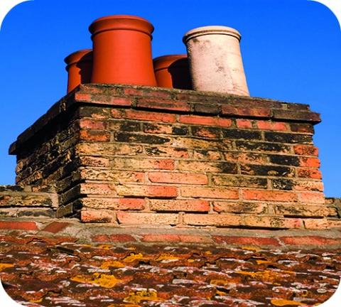 Le nid d'oiseau dans la cheminée présente un risque de CO.