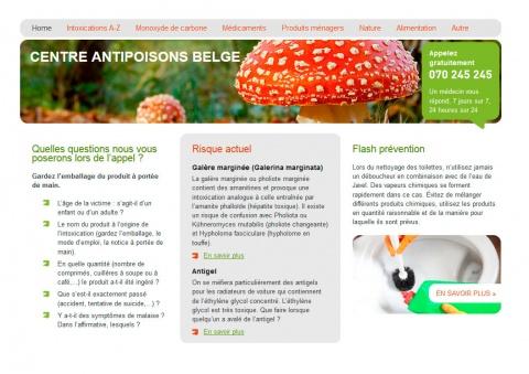 Le nouveau site Web du Centre Antipoisons est en ligne.