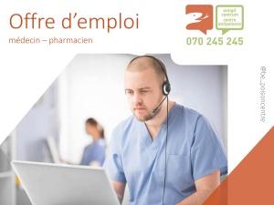 Le Centre Antipoisons engage un médecin et/ou pharmacien.