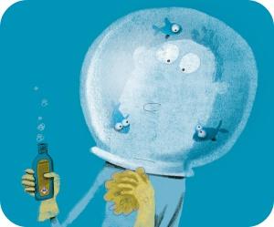 Portez des vêtements de protection adaptés pour travailler avec des produits dangereux.