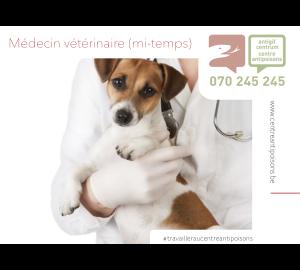 Le Centre Antipoisons belge dispose d'un poste vacant pour un médecin vétérinaire.