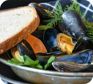 La consommation de moules et autres coquillages peut parfois s'accompagner d'une intoxication alimentaire.