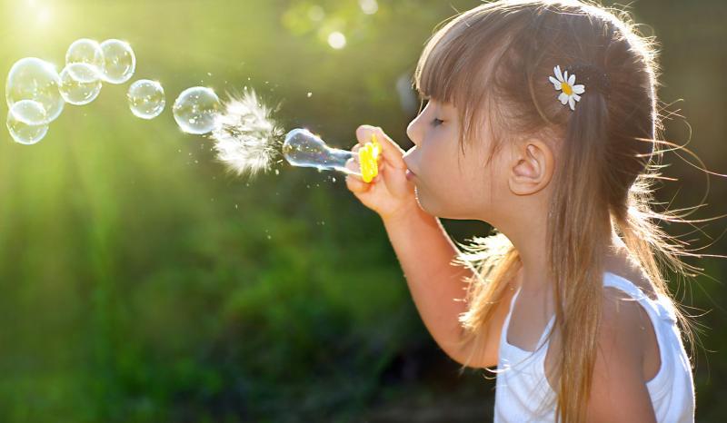bulles de savon enfant recette maison